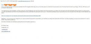 Cac ban chu y ten mail support cua chung la: