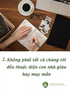 Khong phai tat ca chung toi deu thuoc dien con nha giau hay may man