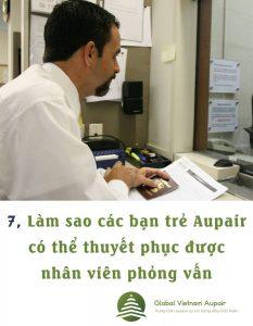Lam sao cac ban tre Aupair co the thuyet phuc duoc nhan vien phong van?