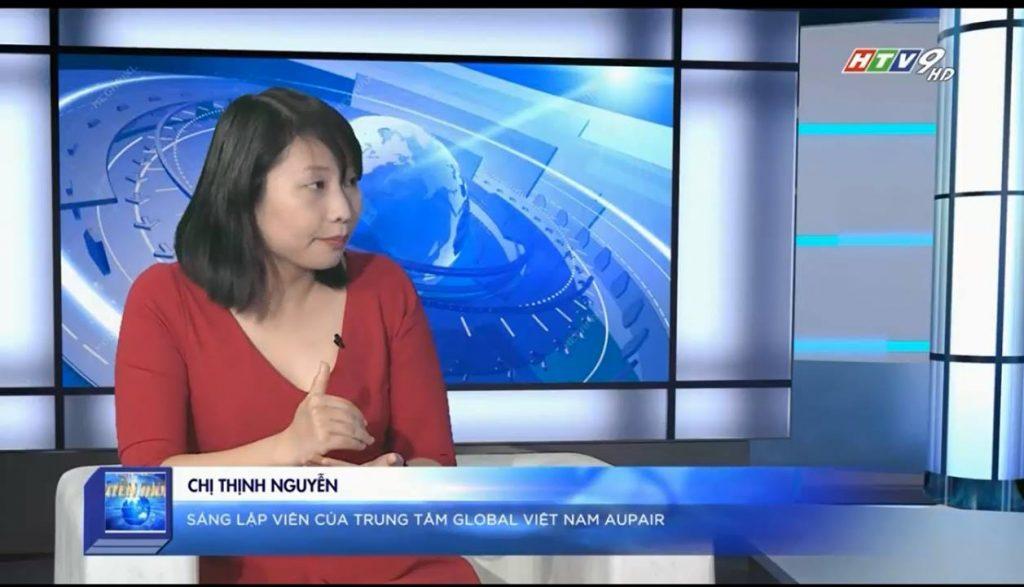 Chị Thịnh trên kênh truyền hình HTV9