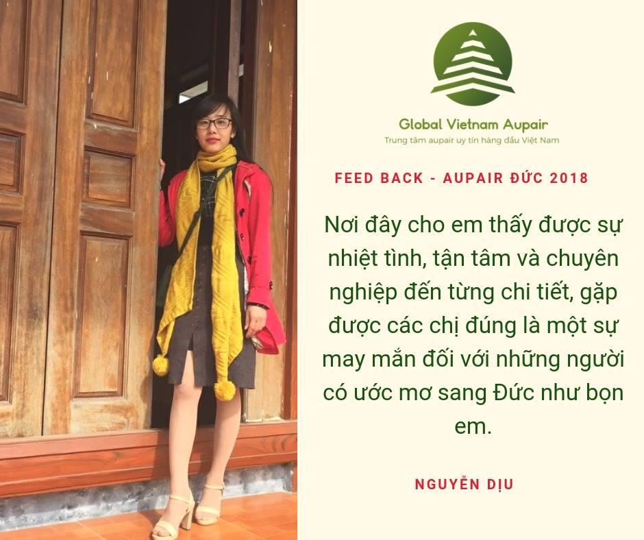 Global Vietnam Aupair như là gia đình của mình – Aupair Đức 2018