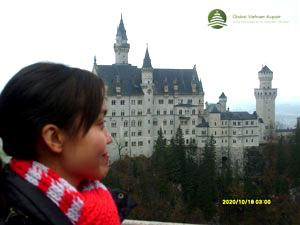 Lâu đài Neuschwanstein (dãy Alpen, bang Bayern) – Aupair Đức