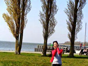 Thanh pho Rostock va bien Ostsee
