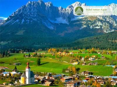 The profile for the Aupair program in Austria at Global Vietnam Aupair
