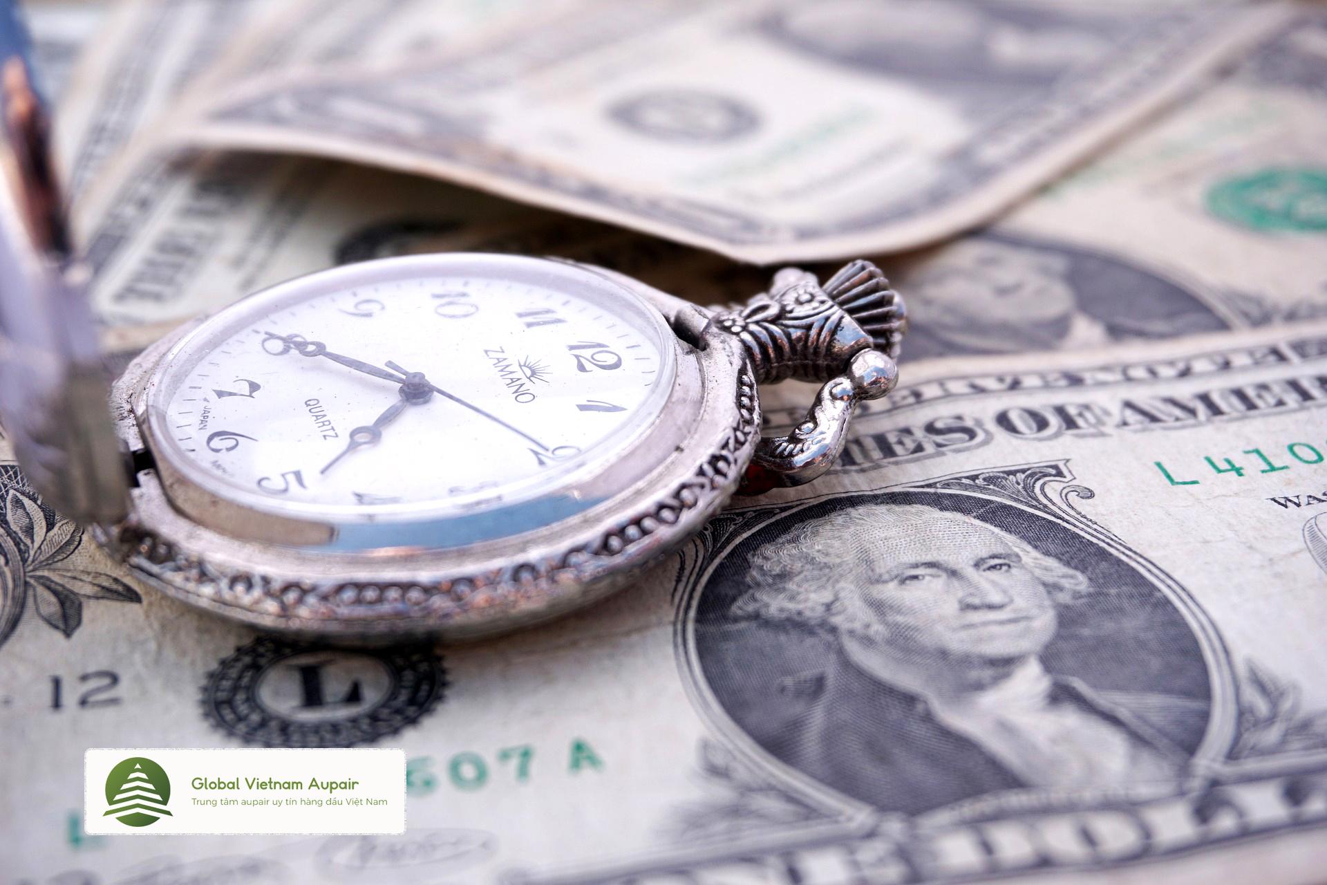 So sánh thời gian làm việc và lương Aupair của từng nước