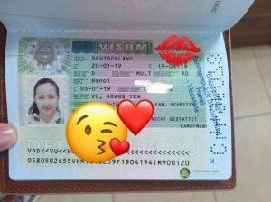 Visum aupair Duc Vu Hoang Yen