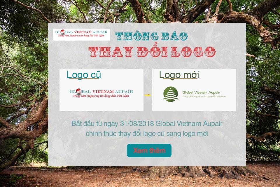 Thông báo thay đổi logo Global Vietnam Aupair