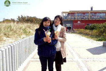 Du lịch Aupair – kỷ niệm không thể quên