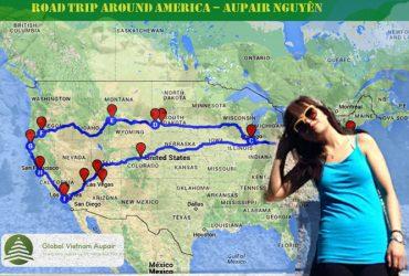 Hành trình của ước mơ: 15 ngày vòng quanh nước Mỹ